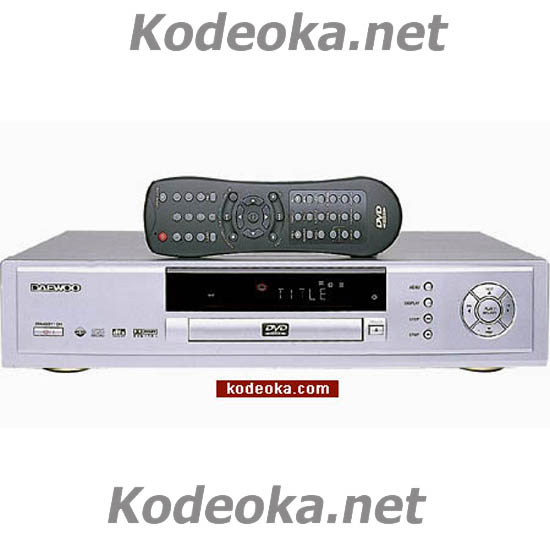 REPRODUCTOR DVD DAEWOO DHC 2200K