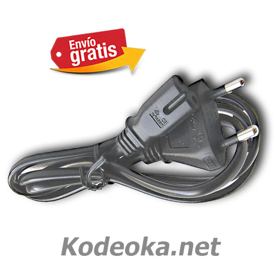 CABLE ELECTRICO CON ENCHUFE Y CLAVIJA DE RED 220CA