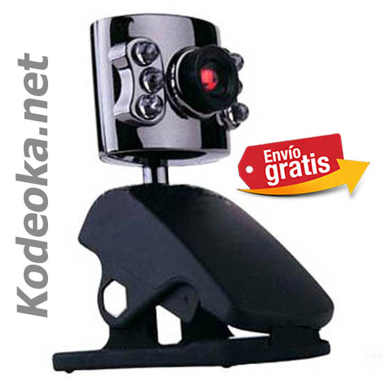 CAMARA WEB COLOR CON ILUMINACION LED