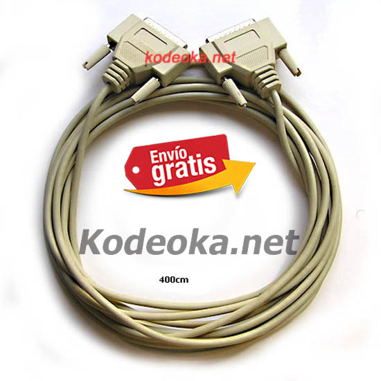 CABLE PARALELO RS232 PUERTO PARALELO