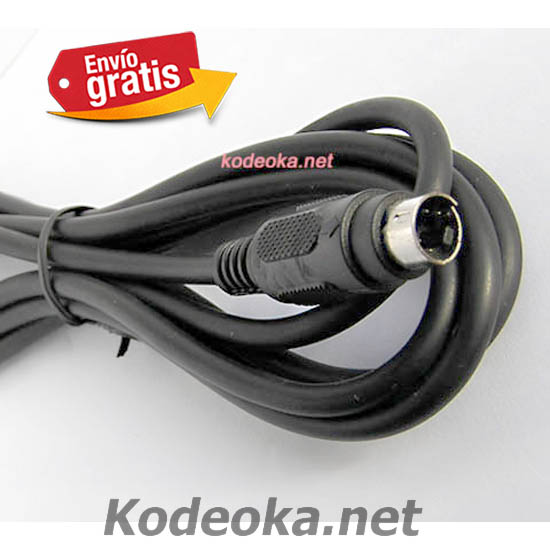 Cable conector S-Video con clavija DIM