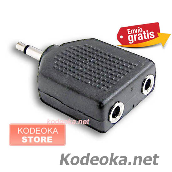 CLAVIJA ADAPTADOR JACK MINI JACK 3,5mm MONO