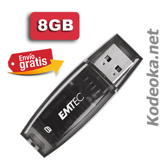 MEMORIA FLASH PENDRIVE FLASH 8 GIGABYTE