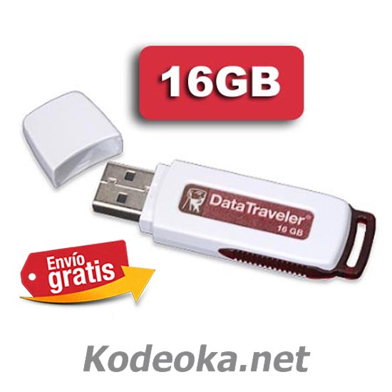 PENDRIVE MEMORIA FLASH 16 GIGABYTE