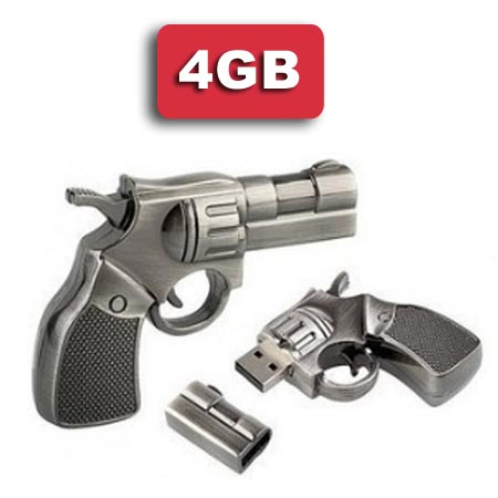 PENDRIVE MEMORIA FLASH 4GB FORMATO REVOLVER