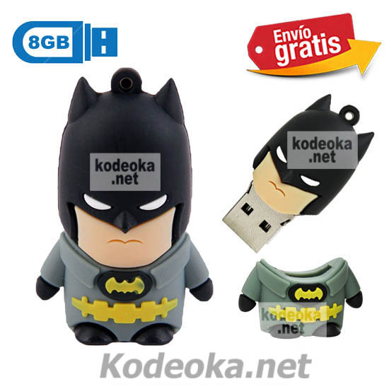 MEMORIA USB PENDRIVE BATMAN 8GB
