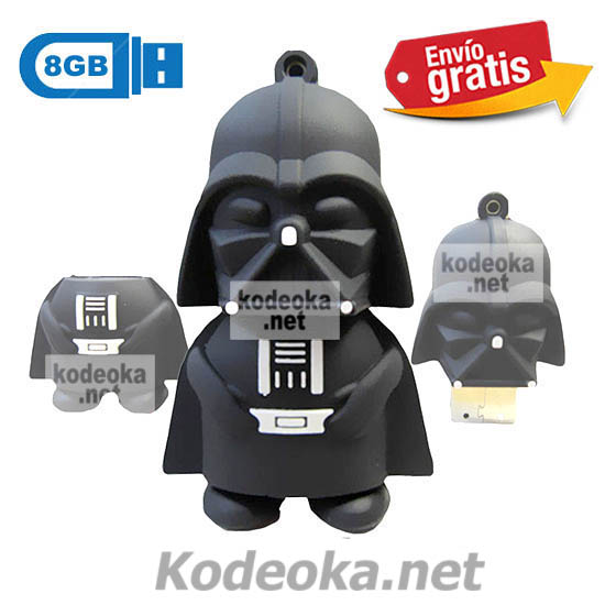 MEMORIA USB PENDRIVE DARTH VADER 8GB