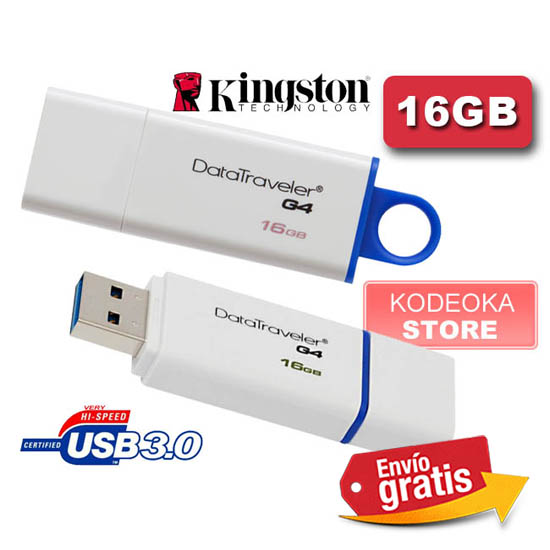 Pendrive memoria flash Kingston 16Gb USB 3.0