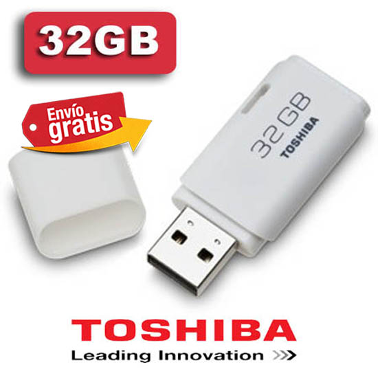 PENDRIVE MEMORIA FLASH TOSHIBA 32GB