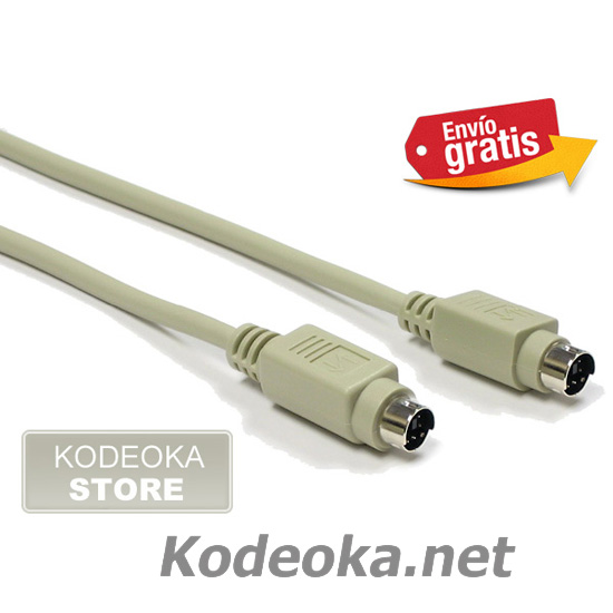 CABLE  CONECTORES MINI DIM MACHO / MACHO